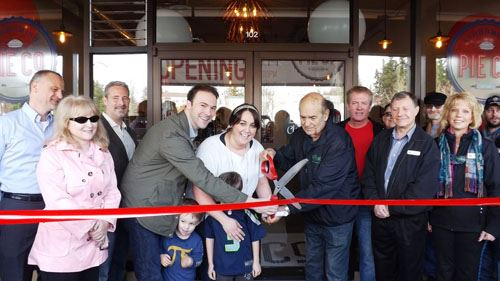 Snohomish Pie Company Ribbon Cutting Photo