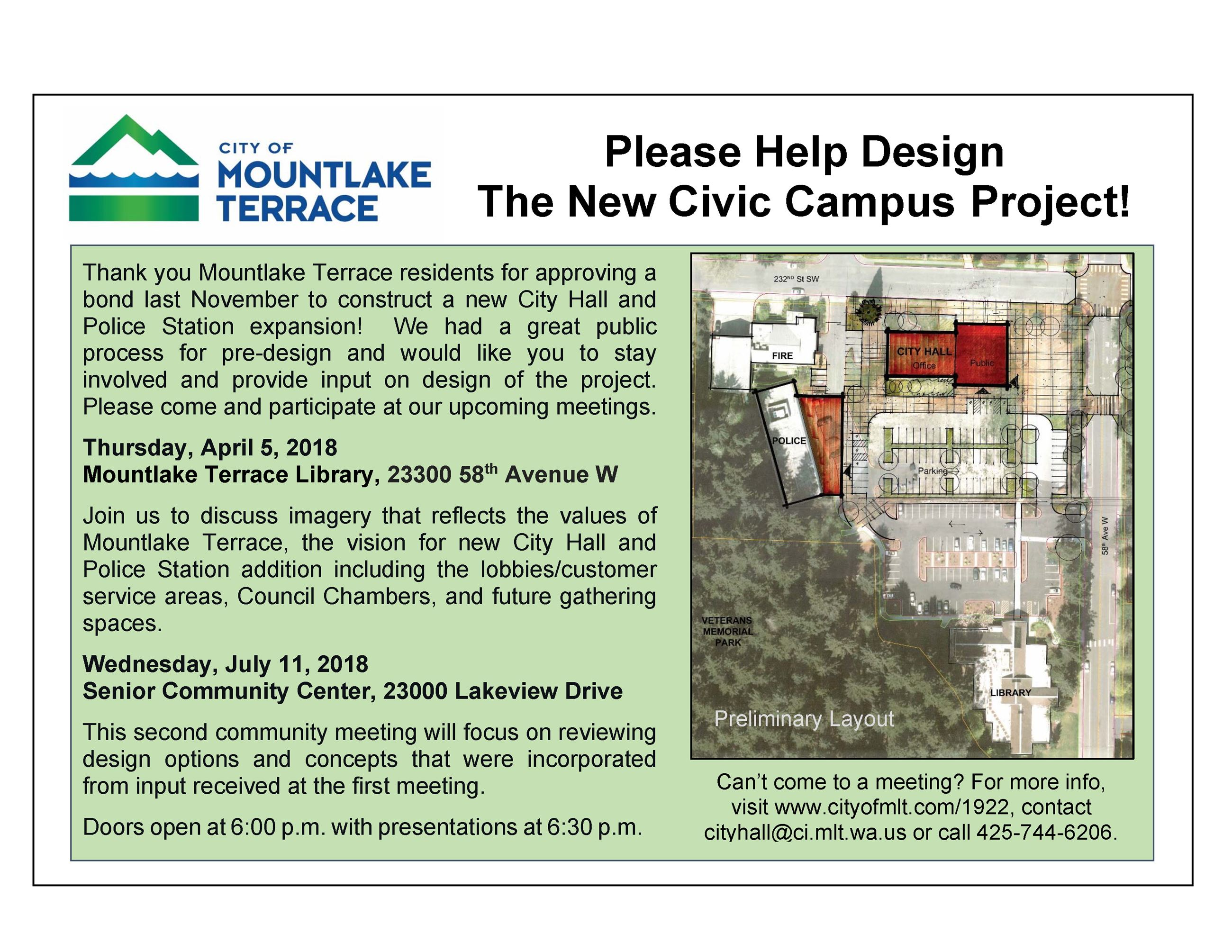 Civic Campus Project Meetings