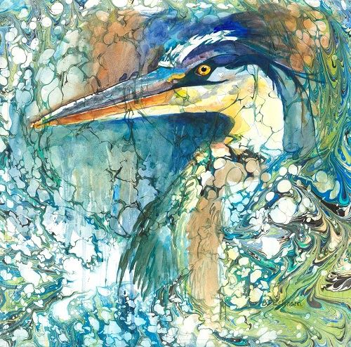 Emergence Watercolor by Bev Eckmann
