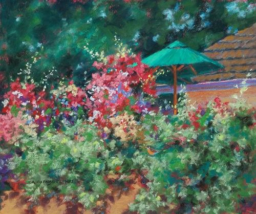 Summer Garden by Cheryl Hufnagel
