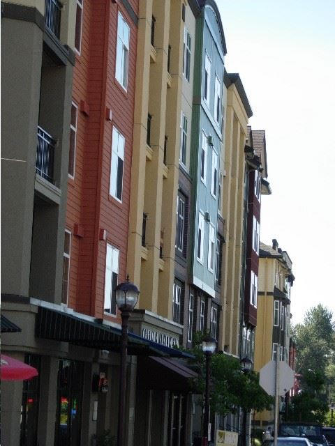 Row of apartments