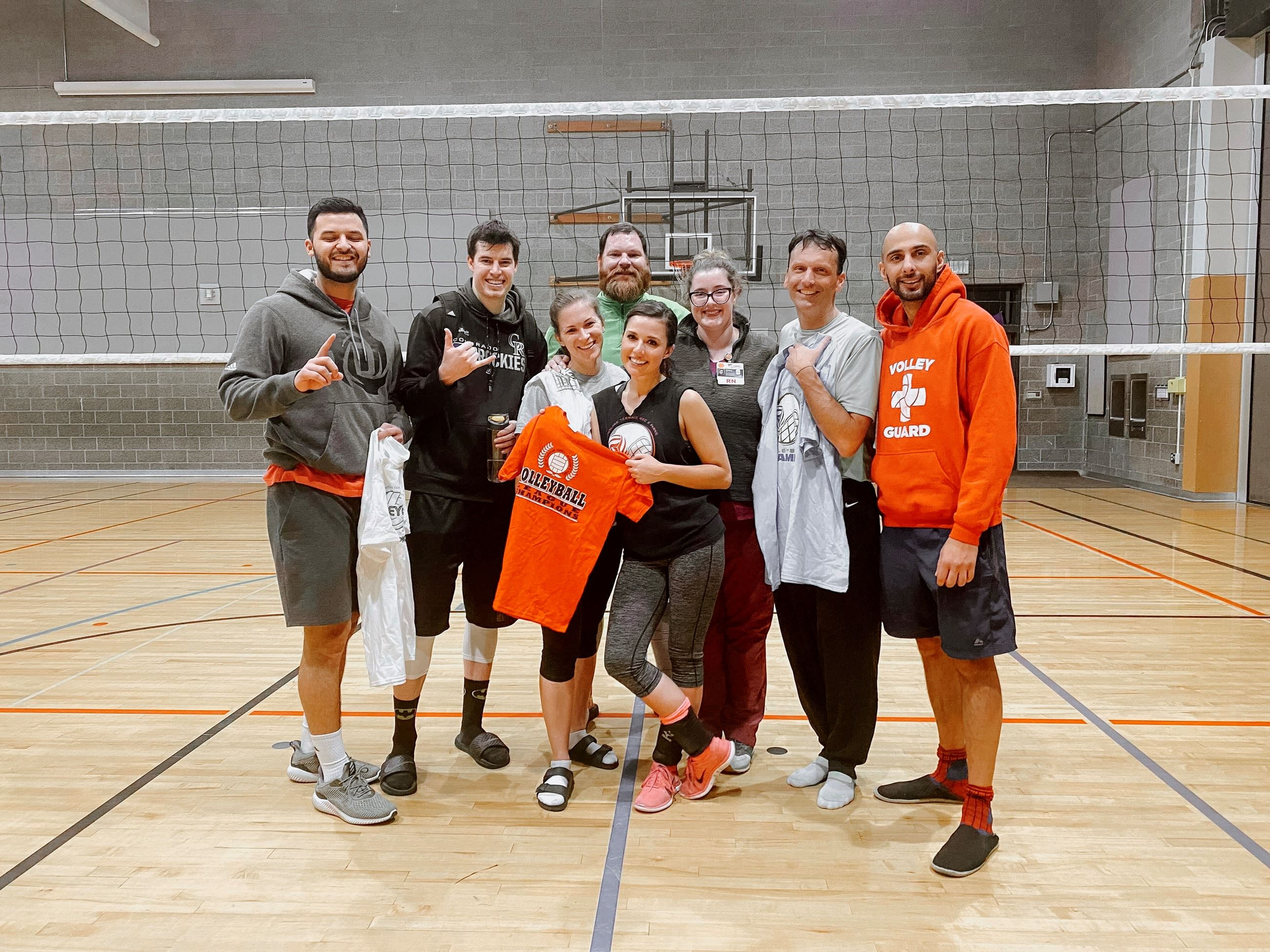 Volleyball Leage Champs Fall 2019