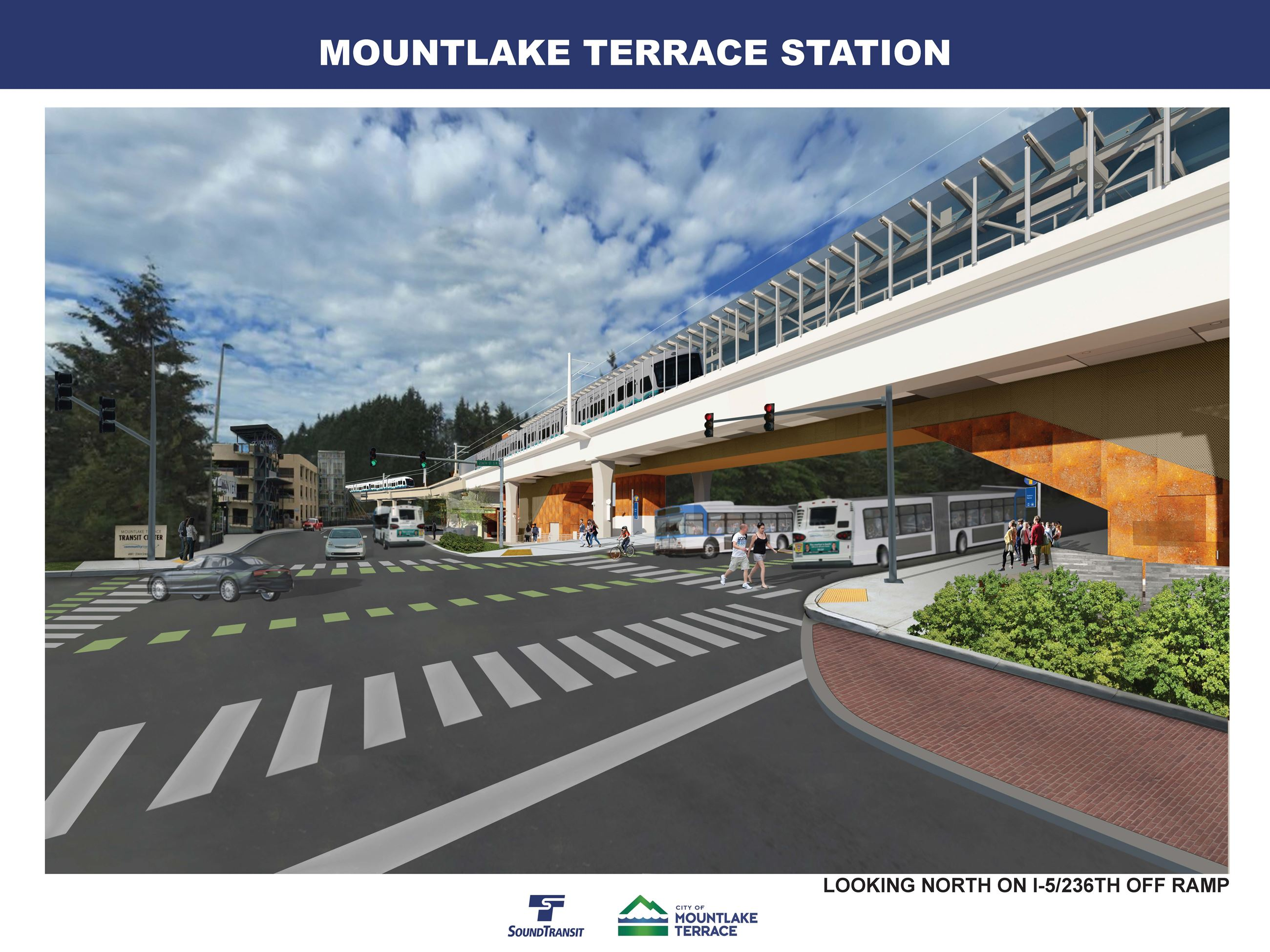 Future Mountlake Terrace Light Rail Station