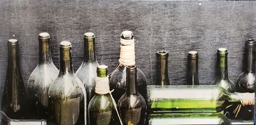 Better With Age Photo of Old Wine Bottles by Jeff Galbraith