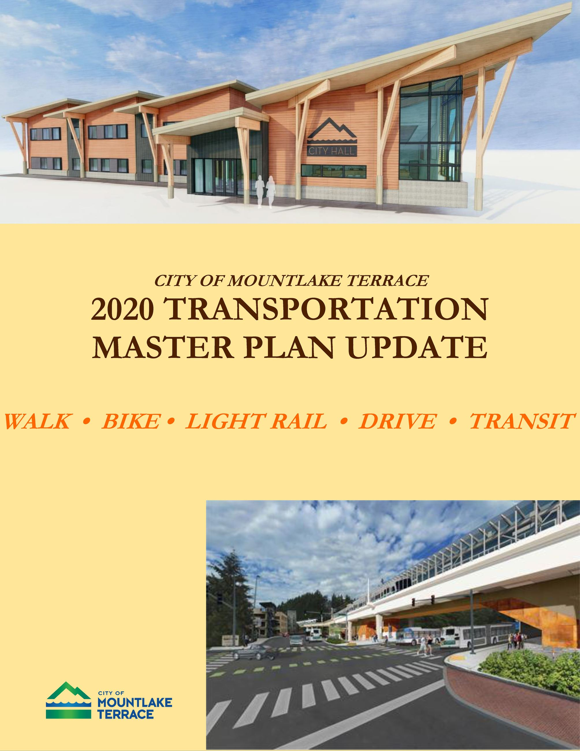 Transportation Master Plan Cover Page