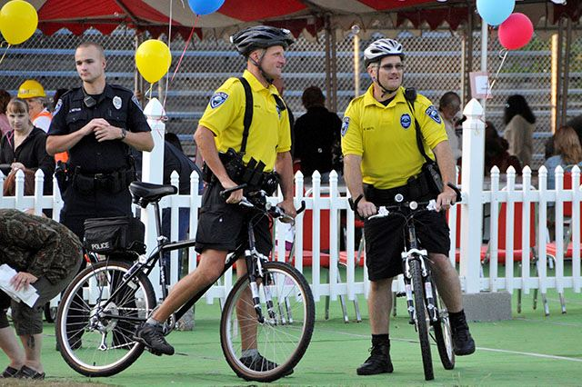 Bike Patrol at National Night Out